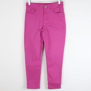 NYDJ Magenta Crop Jeans 2P